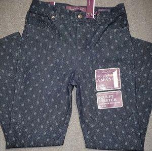 Gloria Vanderbuilt Slimmimg Jeans